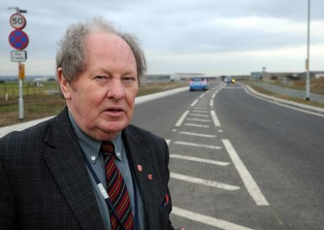 Set for changes? - Ray Howard at Roscommon Way extension