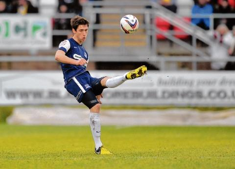Luke Prosser - back in the starting line-up for Southend United at Griffin Park