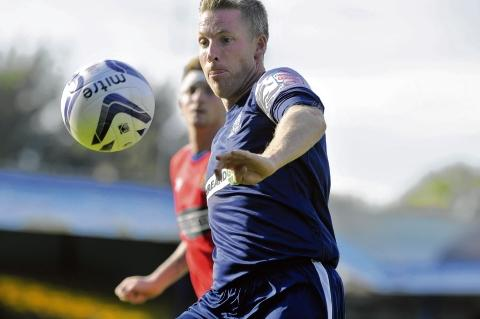 Neil Harris - back from injury for Southend United