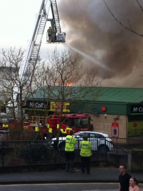 Updated: Huge blaze in Langdon Hills