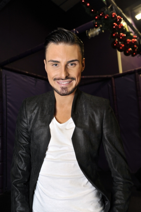 Rylan enters the Big Brother House