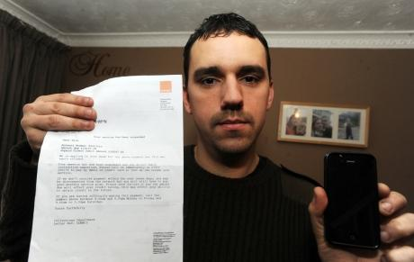 Man gets £19,000 phone bill