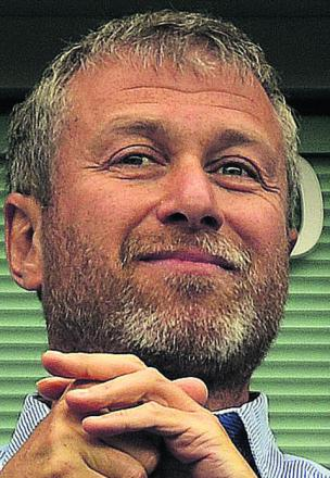 Chelsea FC owner and Russian billionaire Roman Abramovich