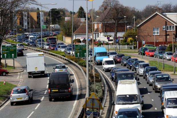 Echo: Traffic on the A127