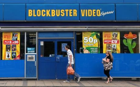 Blockbusters goes into administration
