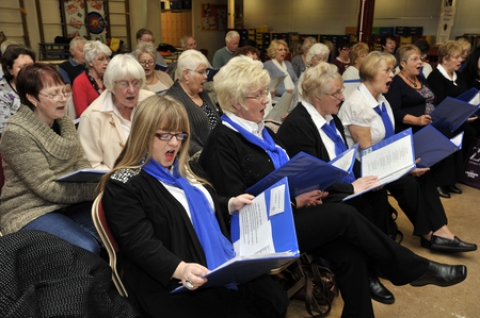Canvey Community Choir have been chosen to perform at a landmark Canvey floods memorial service.