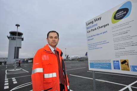 Echo: Southend Airport managing director Alastair Welch