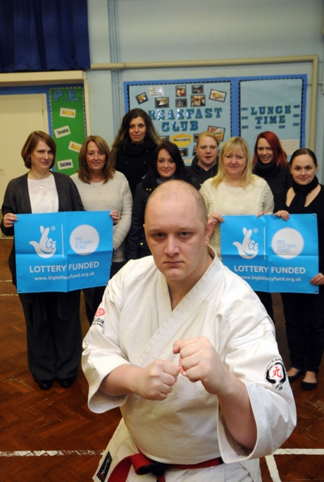 Lotto cash to teach domestic abuse victims self defence