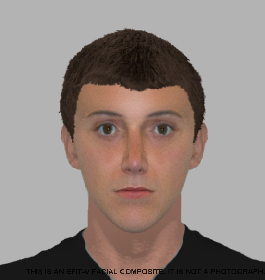 Detectives probing robbery release e-fit of man they are hunting