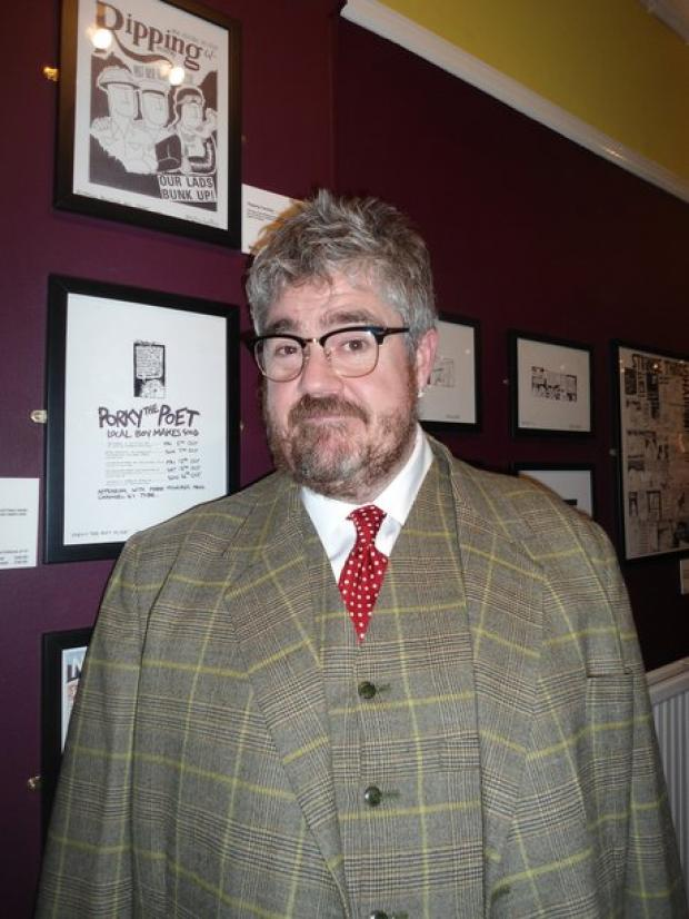Phill Jupitus at Leigh Community Centre