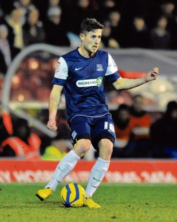 Ryan Leonard - scored the winning goal for Southend United this afternoon