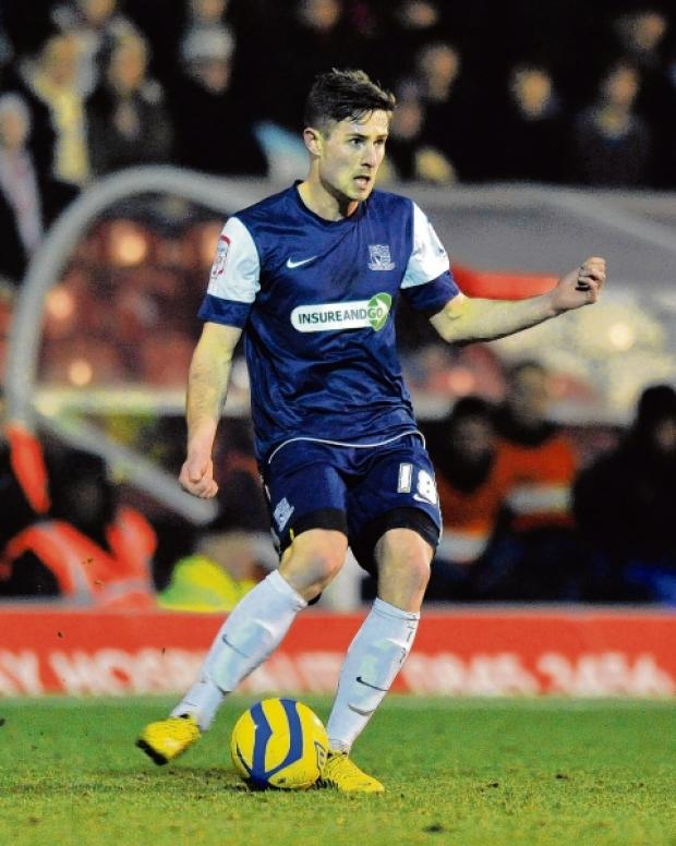 Ryan Leonard - back in action for Southend United