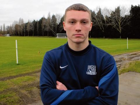 Caolan Lavery - looking forward to making his Southend United debut