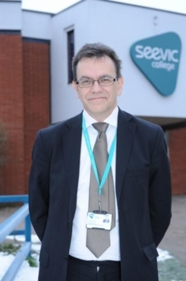 Echo: Seevic principal Nick Spenceley