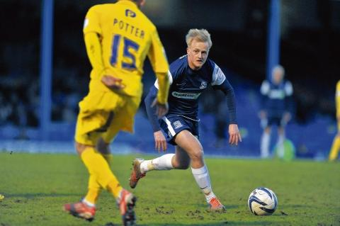 Echo: Ben Reeves - eager to impress for Southend United
