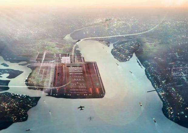 Only one in six want Boris Island airport