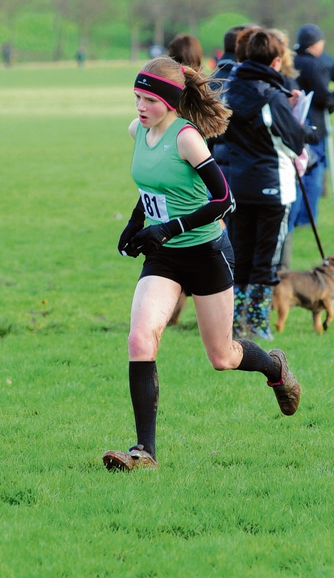 Gemma Holloway at the double as youngsters star at Essex Schools Cross-Country Championships