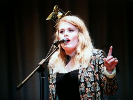 Tourettes teen sings her way to success
