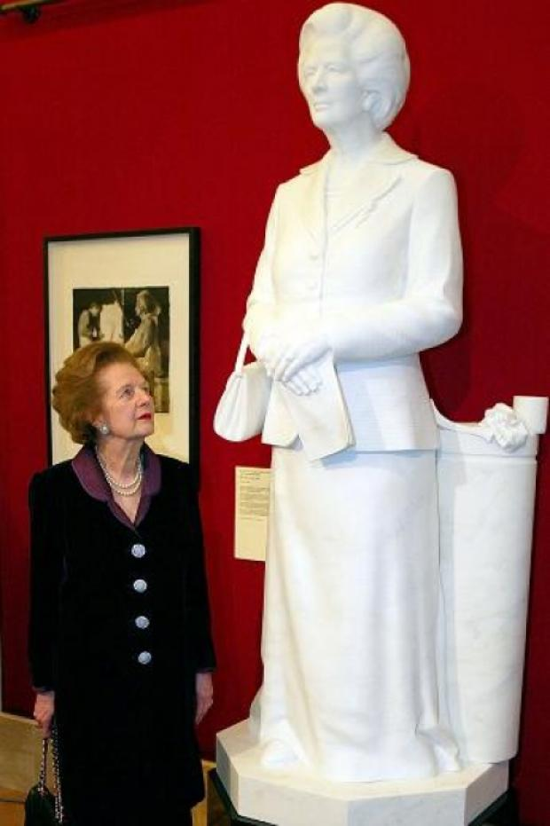 Iron Lady statue could be heading for Craylands