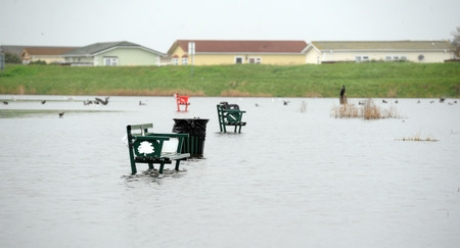 Calls to sort out flooded Canvey park