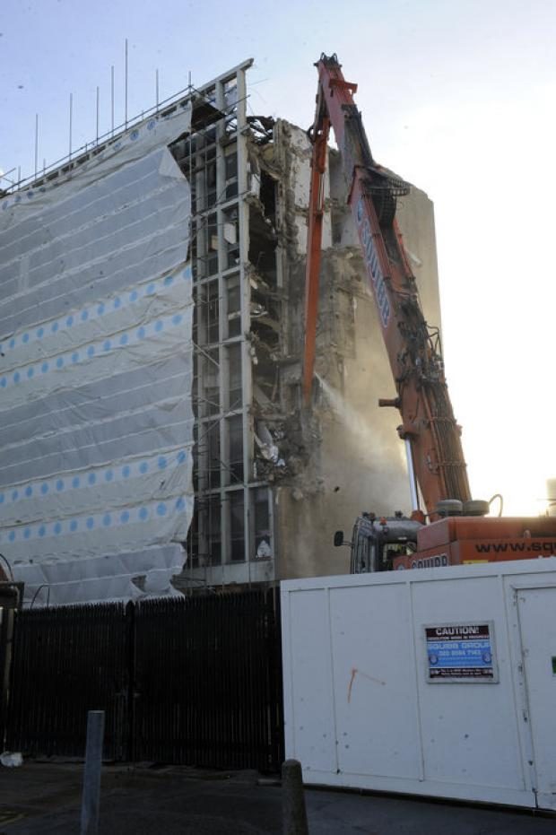 Portcullis House demolition