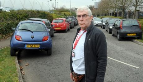 Taxi driver Ralph Morgan says the problem is getting worse