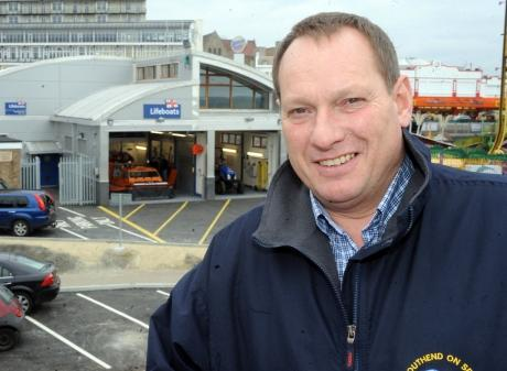 John Foster, the new operations manager at Southend's lifeboat service