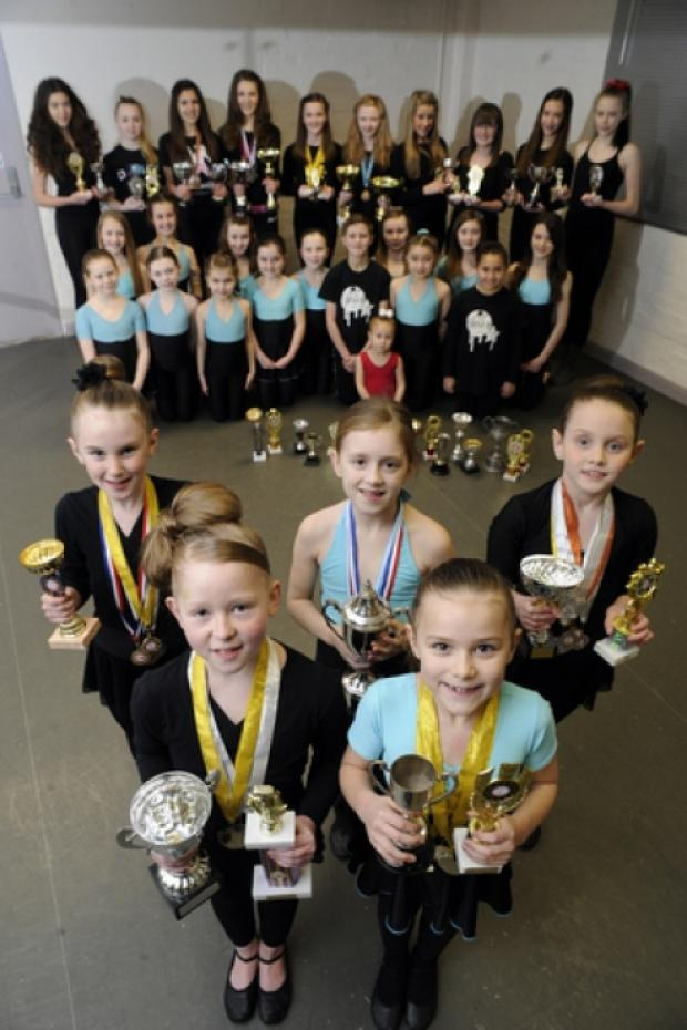 Dancing to success: members of Star Studios of Performing Arts