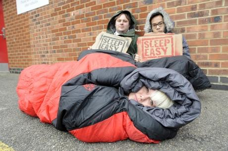 Southend YMCA sleeping out for charity