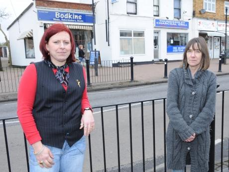 Joanne Clarke and Andie Freeston are calling for action to be taken