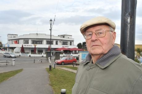Devastated - Clary Swann outside the Monico pub and former casino site in 2010