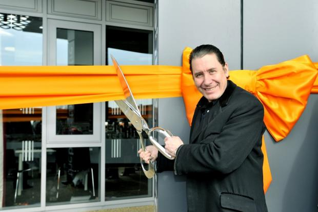 Piano man Jools Holland opens new centre in Purfleet