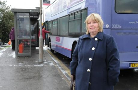 Linda Thaxter hopes the service can be saved
