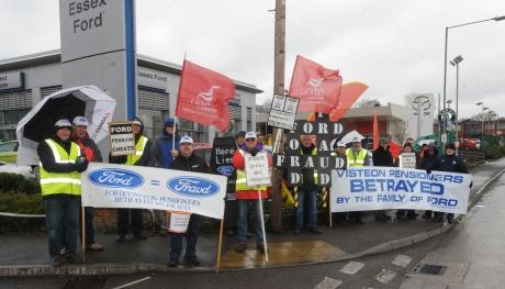 Visteon's former workers want their pensions back