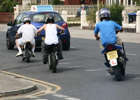 Father hits out at testing system for moped riders