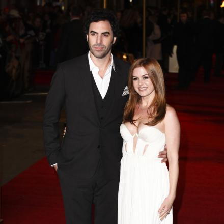 Starring role - Cohen's wife Isla Fisher will also feature in the film