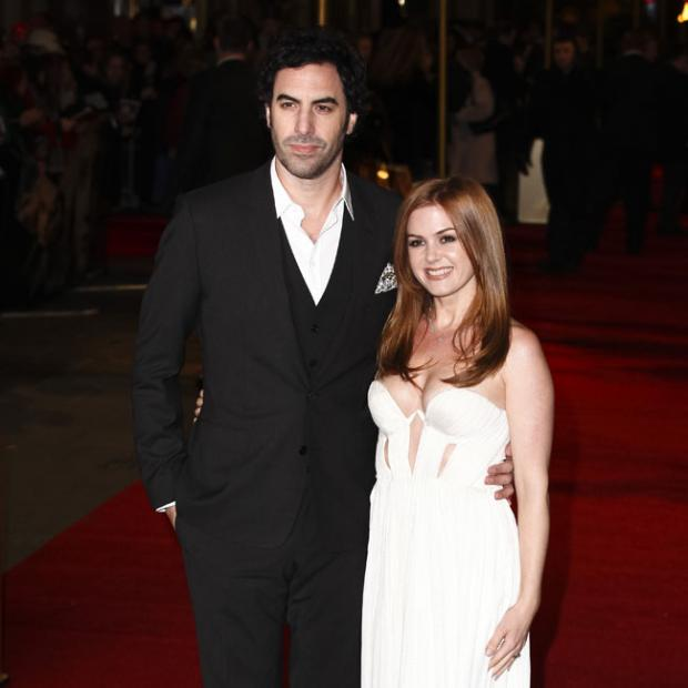 Echo: Starring role - Cohen's wife Isla Fisher will also feature in the film