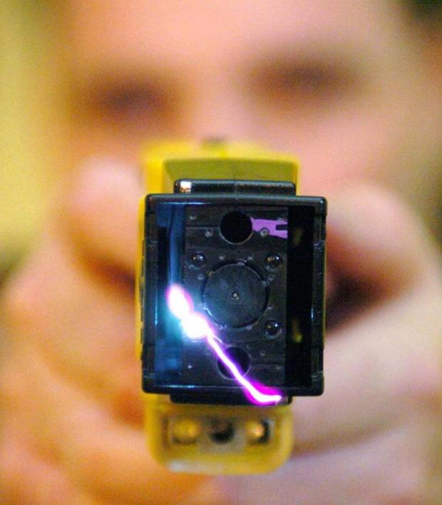 Echo: Police bosses defend rising use of Tasers