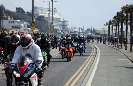 Bikers descend on Southend