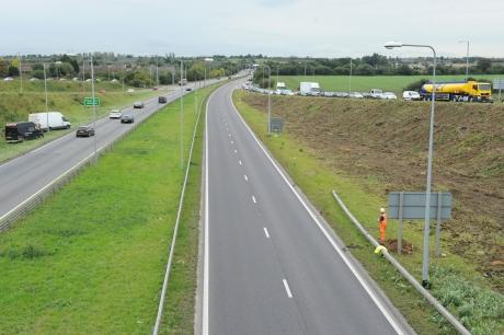 The A13 at the Manorway