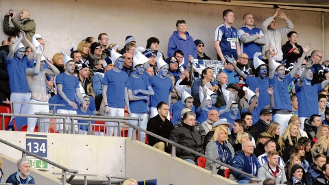 Blues fans are being urged to pack Roots Hall and cheer the team back to Wembley