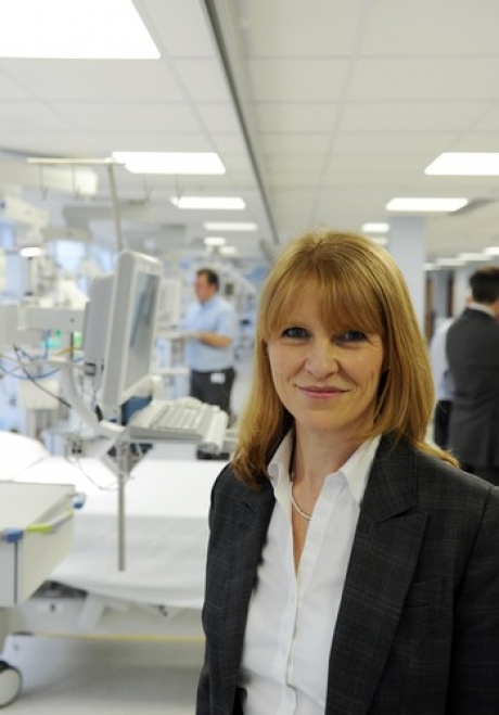 Clare Panniker, chief executive of Basildon Hospital, pays tribute to her hardworking staff as hospital gets the all clear