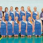 Court stars – the Greensward Academy under-14 girls basketball team in Nottingham