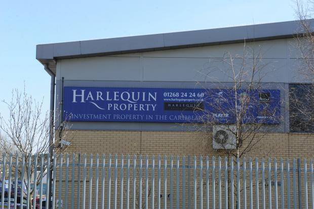 Harlequin offices in Basildon