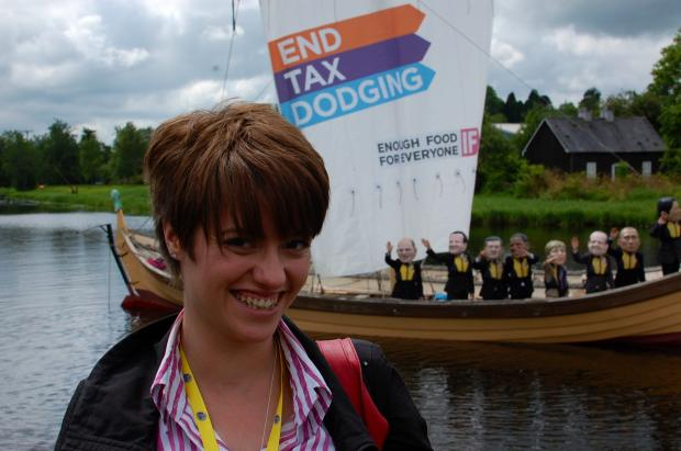 Echo: Echo's Jack Monroe calling for change at G8 summit