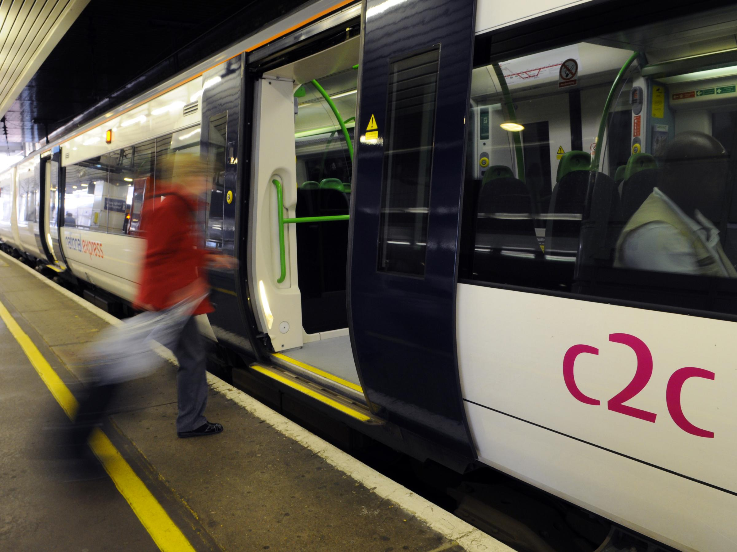 Passenger on c2c trains the most 'satisfied'