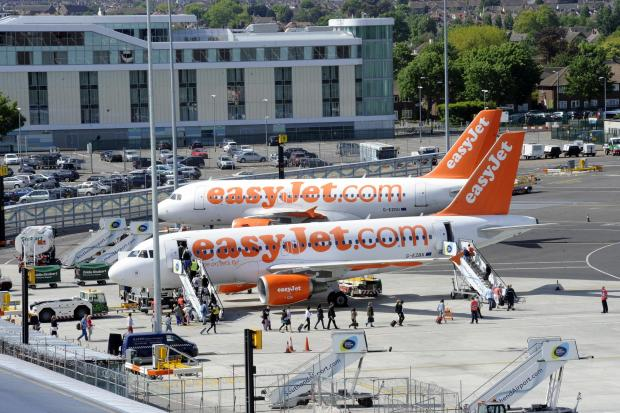 The only weigh is excess on TOWIE easyJet flight to Malaga