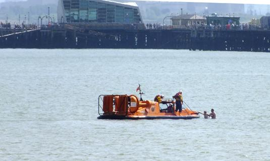 Echo: Girl rescued from sea