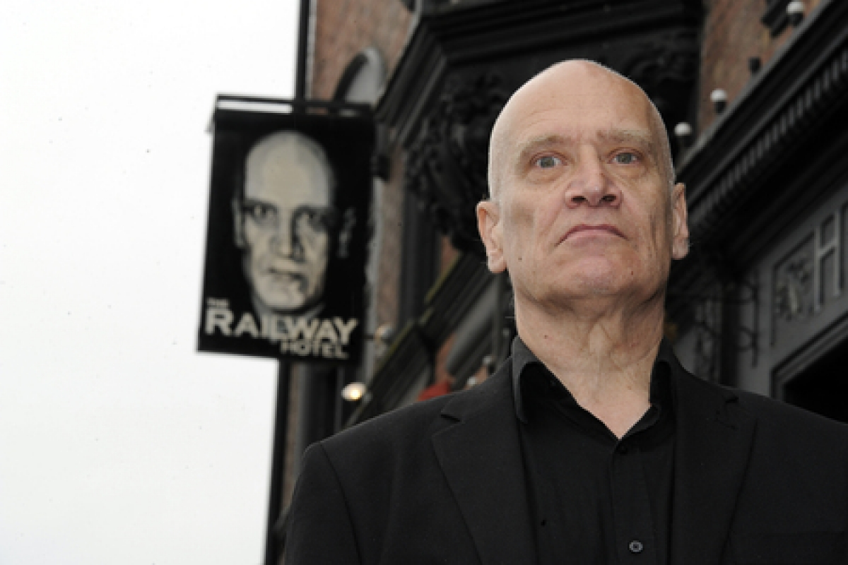 Wilko Johnson is the new face of Southend's Railway Hotel