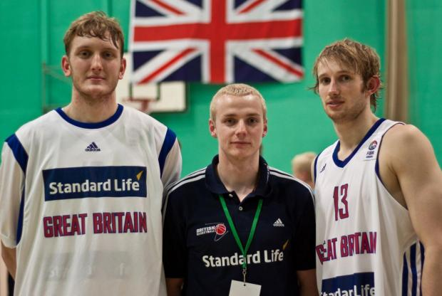 Romania bound - Joe Lockwood, Rikki Broadmore and Joe Hart are part of the Great Britain under 20 team